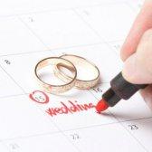de fecha de boda auspicioso 2015