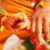 el destino boda de la novia de la India. He aquí por qué
