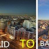 Madrid a Barcelona