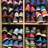 Cumplir con las zapatillas de correr Carrie Bradshaw