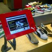 Puma reacondicionado tienda Soho va interactivo