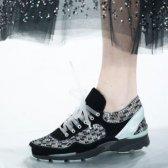 El calzado para correr son fundamentales para el desfile de Chanel