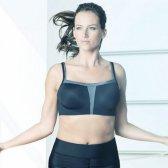 Cuando una empresa diseña ropa interior un sujetador deportivo