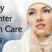 consejos de invierno de piel brillante, hidratada y sin defectos