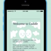 Quiera acariciar a un extraño? Bueno, cuddlr - una nueva aplicación está aquí para darse cuenta de que!