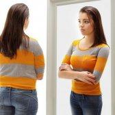 Su hija rescatador comentario que haya una imagen corporal saludable