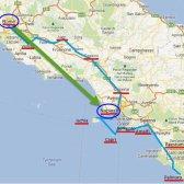Comentario viajar de Roma a Nápoles