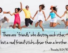 versos de la Biblia sobre la amistad