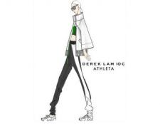 equipos Athleta con el diseñador de moda Derek Lam