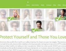 herramienta de datación Xoxy para hacer citas en línea segura