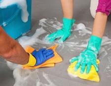Lista de limpieza de primavera su deber-do