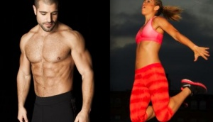 Los instructores de fitness que usted texto